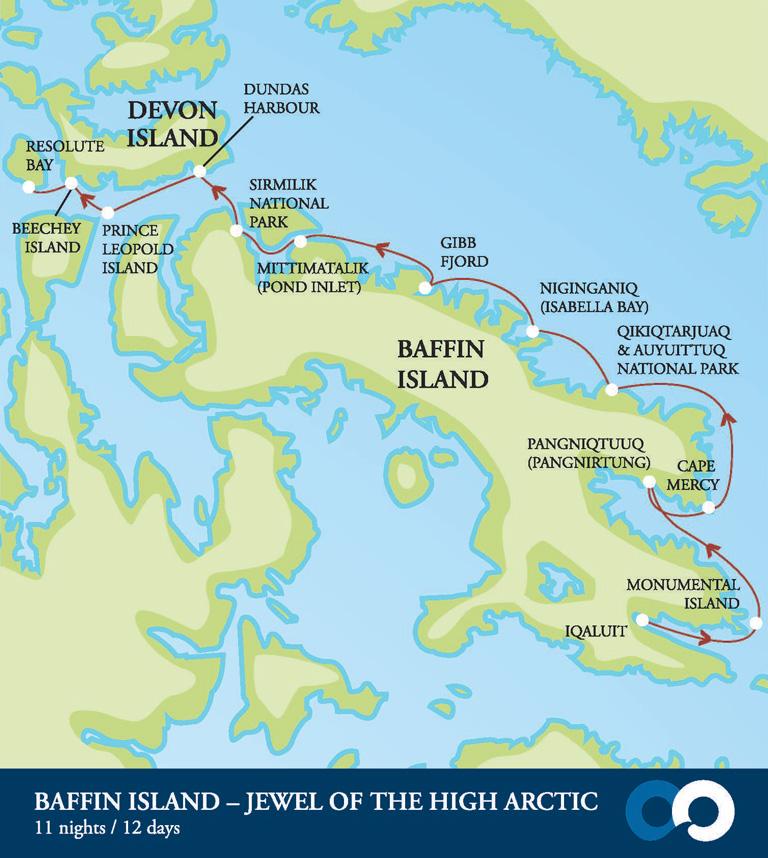 Baffin Island Location On Map