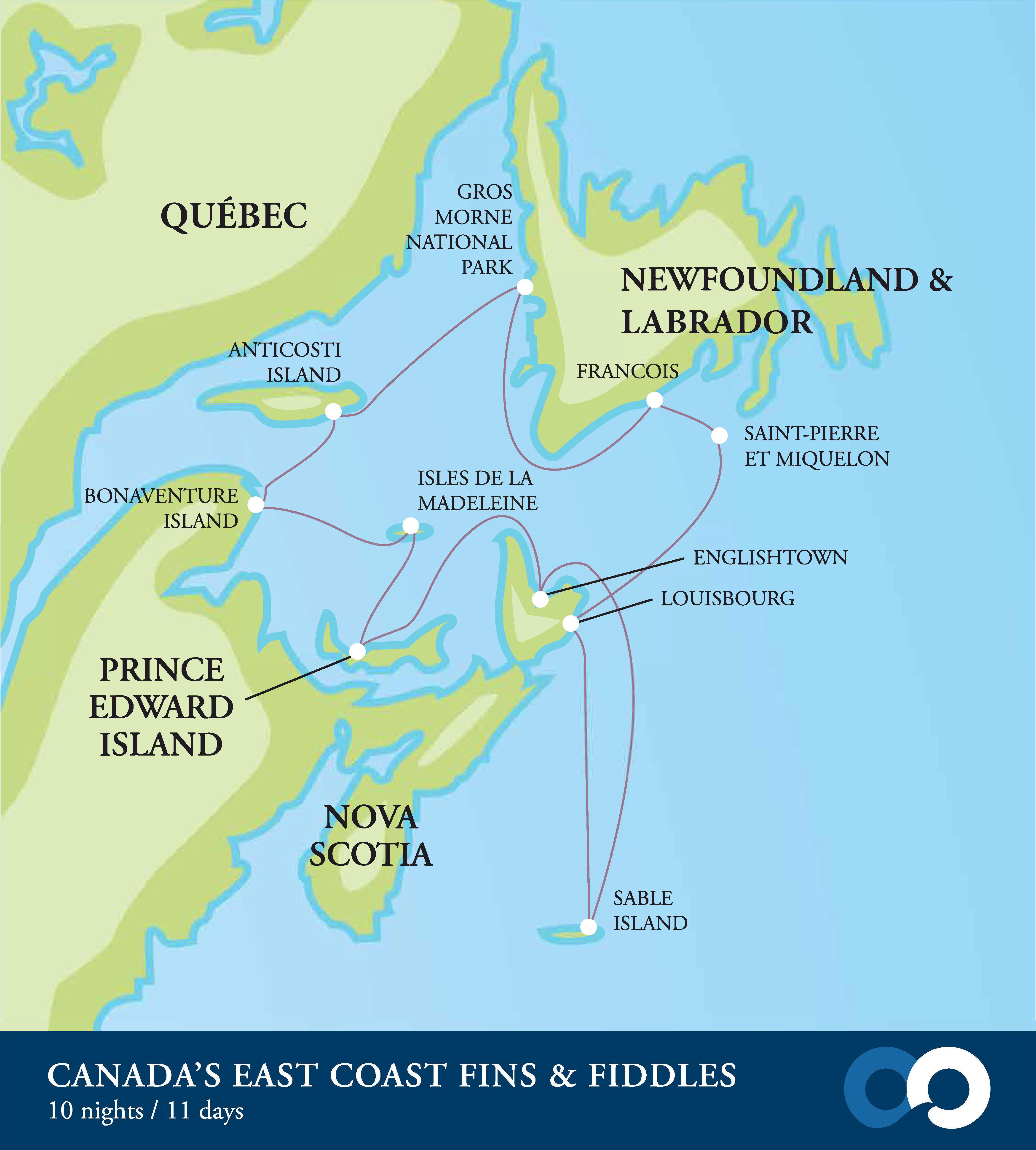 Expedition ship to Sable Island Nova Scotia