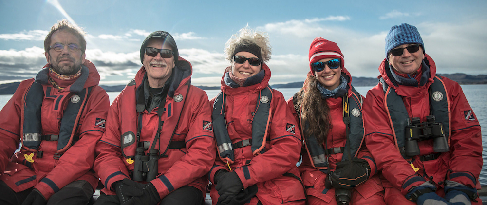 New friendships are formed on a small expedition cruise to Antarctica with One Ocean Expeditions.