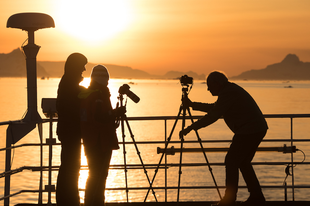 One Ocean Expeditions hosts photography workshops in Antarctica.