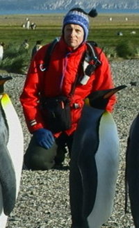 Brian Keating and is a professor, an experienced naturalist and guide, and one of the One Ocean Expeditions staff members who will accompany you while traveling on your Arctic, Antarctic, or Canadian Coast adventure cruise.