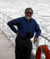 John Dudeney is a historian and guide, and is one of the One Ocean Expeditions staff members who will accompany you while traveling on your Arctic, Antarctic, or Canadian Coast adventure cruise.
